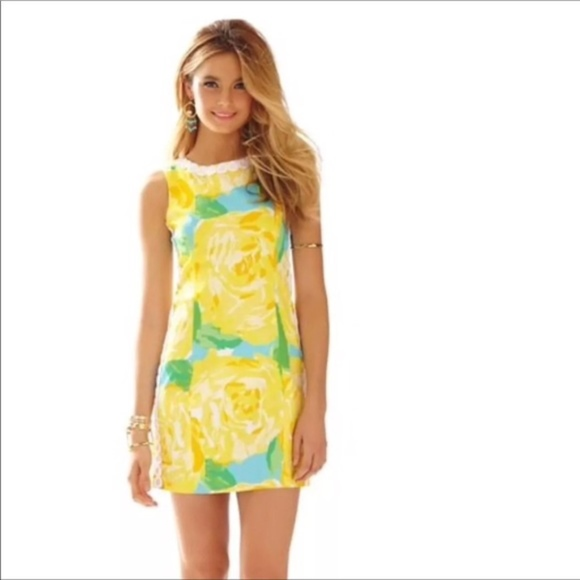 739c12ff94 Lilly Pulitzer Dresses   Skirts - lilly pulitzer • sunglow yellow first  impressions